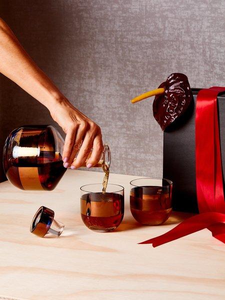 Tom Dixon Liquor Decanter and Glasses Set