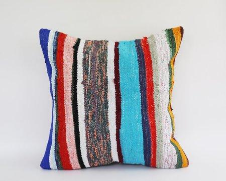 Byron & Blue XL Striped Turkish Rug Pillow – Ricky