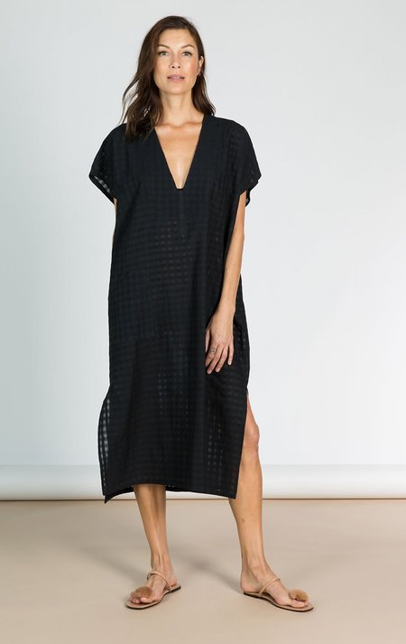 Two New York New! Bib Grid caftan