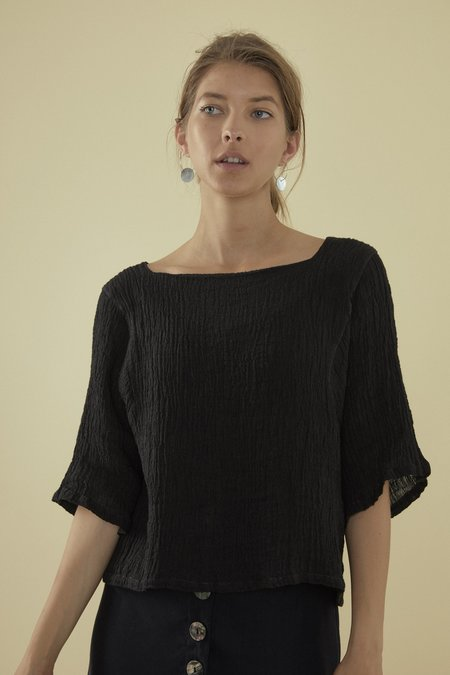 OVNA OVICH Telo Top - Shadow Linen