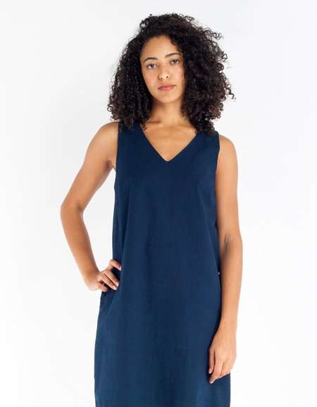 Assembly Label Depths Dress - Indigo