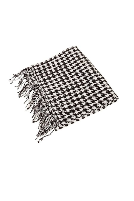 Assembly New York Cashmere Scarf - Houndstooth