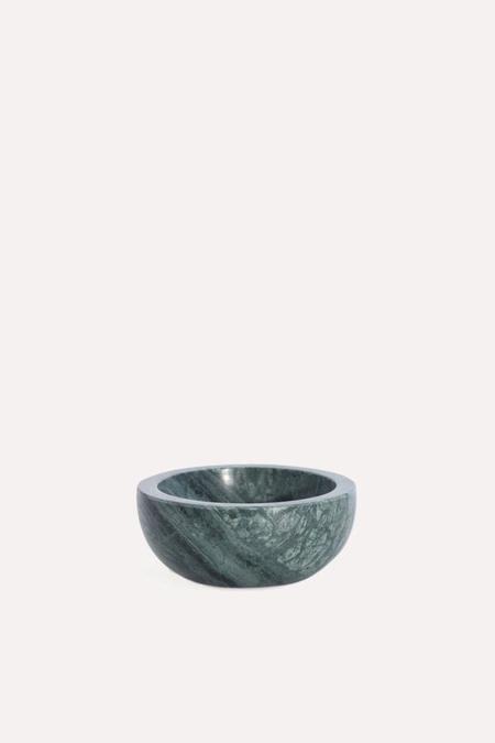 Hawkins New York Mara Marble Bowl Small in Green