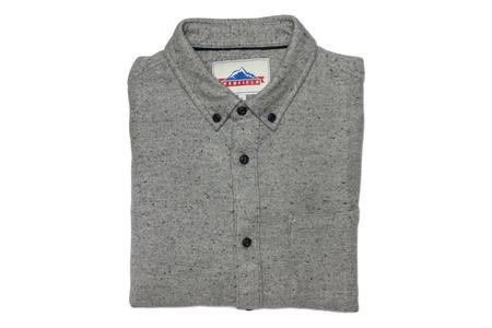 Penfield Ridgley Nep Flannel Shirt - Grey