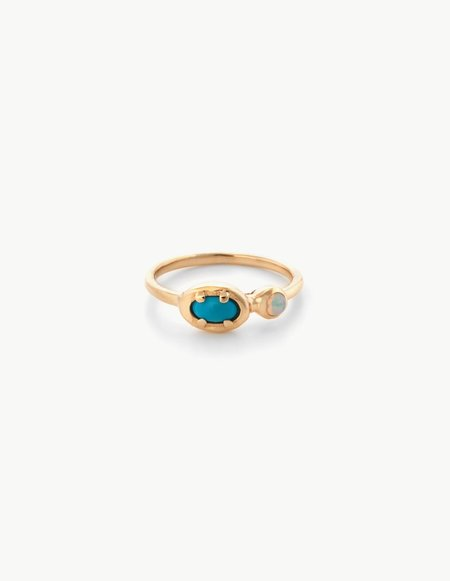 Kathryn Bentley Ellipse Dot Ring