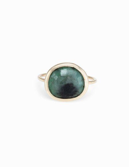 Kathryn Bentley Emerald Slice Ring