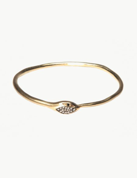 Kathryn Bentley Eternity Snake Bangle