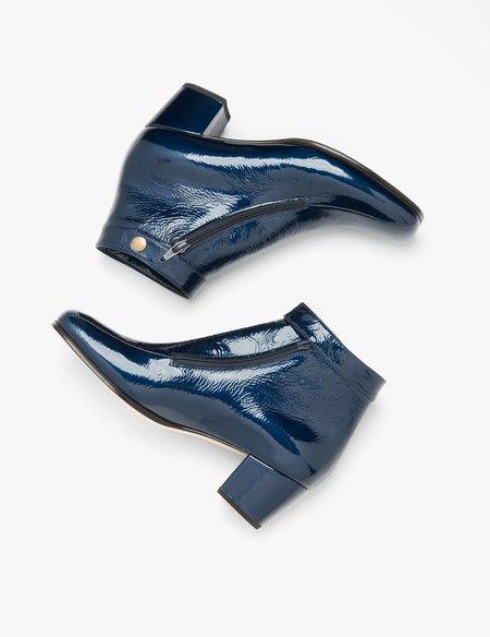 No.6 Statler Ankle Boot - Navy Blue