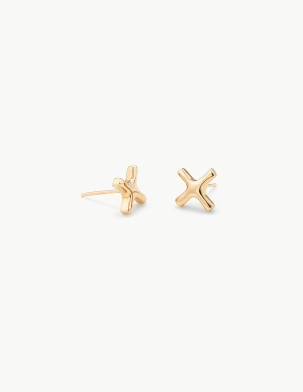 Kathryn Bentley Positive Sign Studs