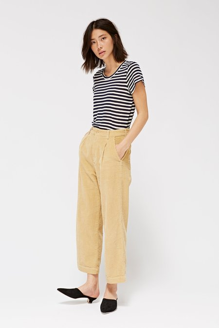 Lacausa Clothing Frankie Trousers - Wood