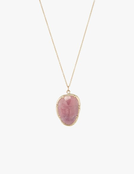 Kathryn Bentley Ruby Organic Amulet Pendant