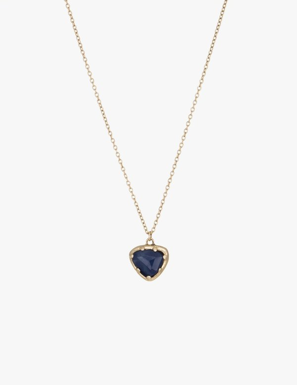 Kathryn Bentley Sapphire Organic Amulet Necklace