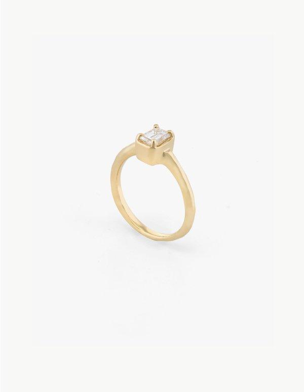 Kathryn Bentley Small Diamond Baguette Ring