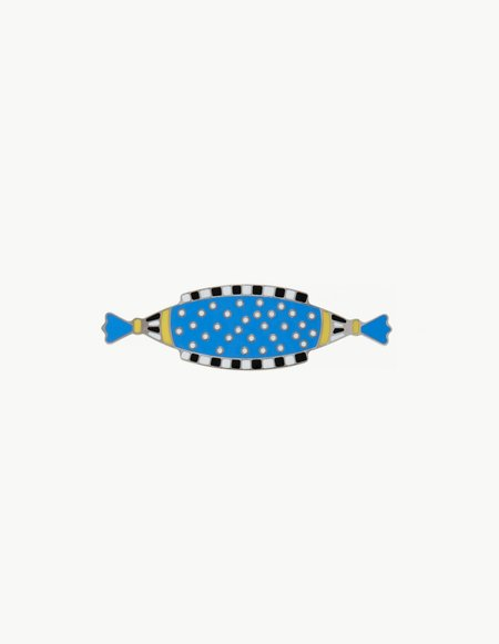 Dream Collective Zeppelin Brooch - Blue
