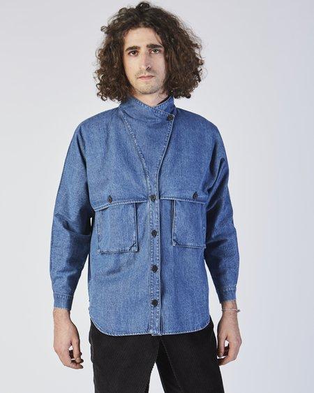 Unisex 69 Denim Safari Shirt