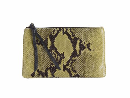 Oliveve Queenie In Avocado Snake Cow Leather