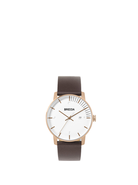 Breda Phase - Rose Gold/Brown