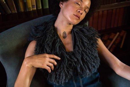 Erica Tanov Baby Alpaca Fringe Collar