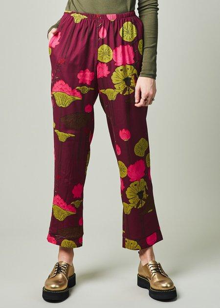 Laura Urbinati Lotus Flower Pajama Pant