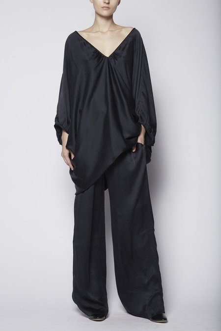 KES Double V Organic Silk Dress
