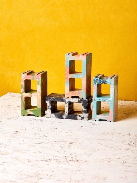 Concrete Cat Mini Cinder Block
