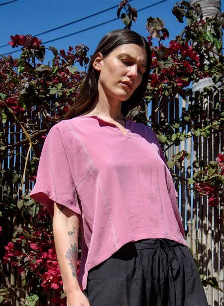 Seek Collective Yuko Top, poser pink