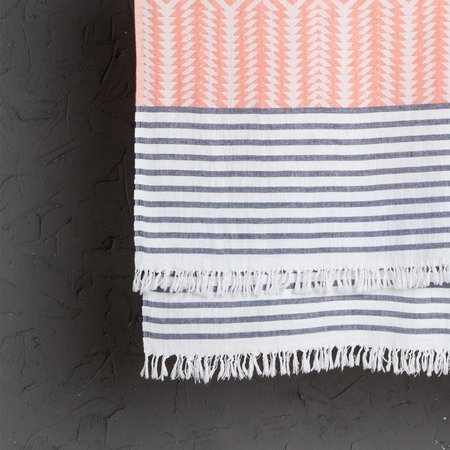 Tama Towels Ahava Peshtemal Throw - Orange