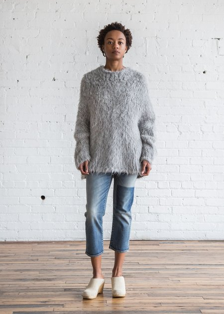 Lauren Manoogian Pyramid Pullover Silver