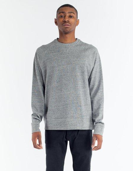 No Nationality NN07 Canyon Sweatshirt - Grey Melange