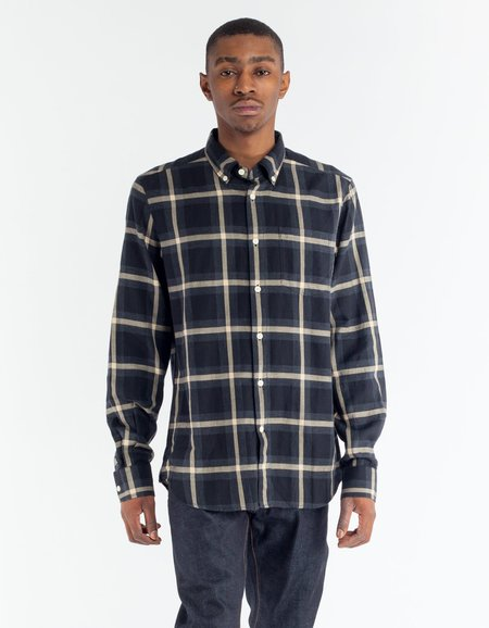 Woolrich Light Flannel Shirt - Black