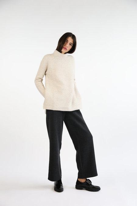 Mijeong Park Whole Garment Pullover - Oatmeal