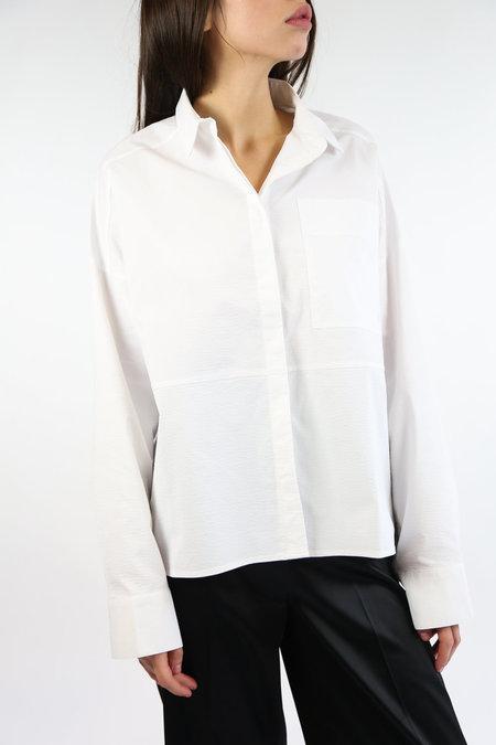 Mijeong Park Open Sleeve Shirt - White