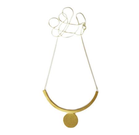 Natalie Joy Floating Circle Necklace