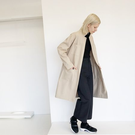 LLOYD Taupe Lightweight Factory Coat