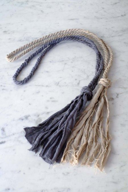 Cathy Callahan Linen Knot Necklace