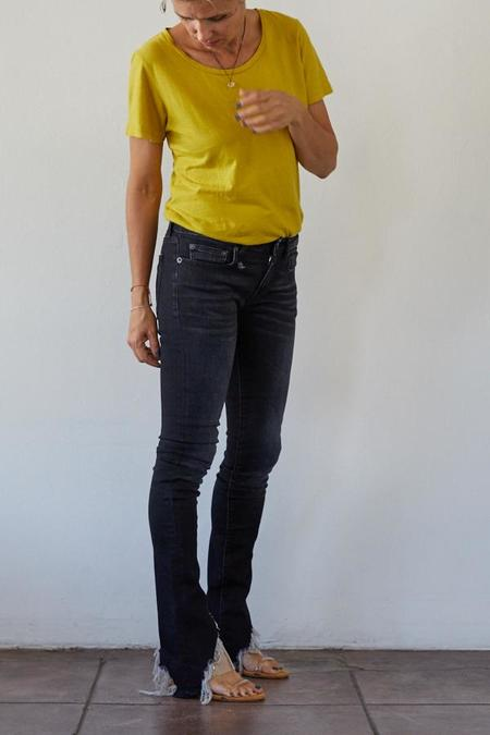 R13 Kate Skinny w/ Angled Hem