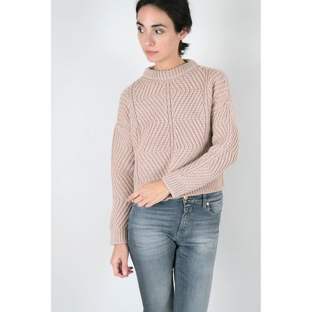 Micaela Greg Bevel Sweater - Blush