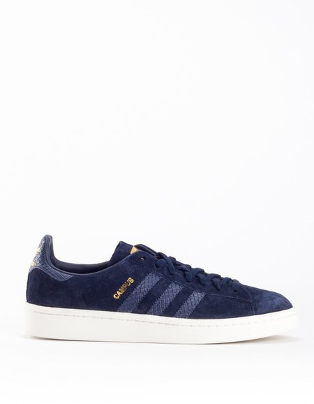 Adidas Campus in Legend Ink Trace Blue and Chalk White