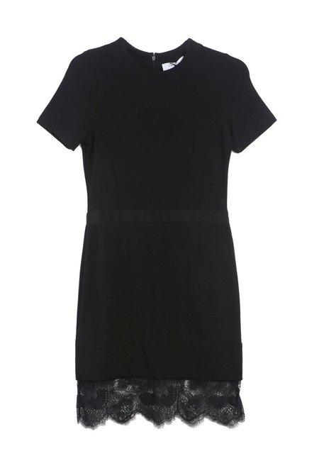 Carven Black Shift Dress
