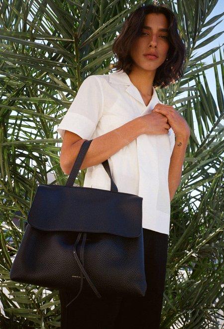 Mansur Gavriel Black Tumble Lady Bag