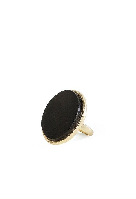 Sophie Monet Ebony Tulip Ring