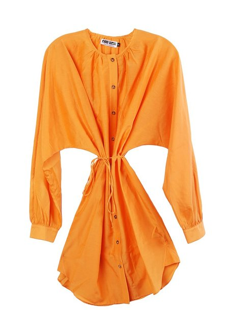 ciao lucia Isabella Dress - Tangerine