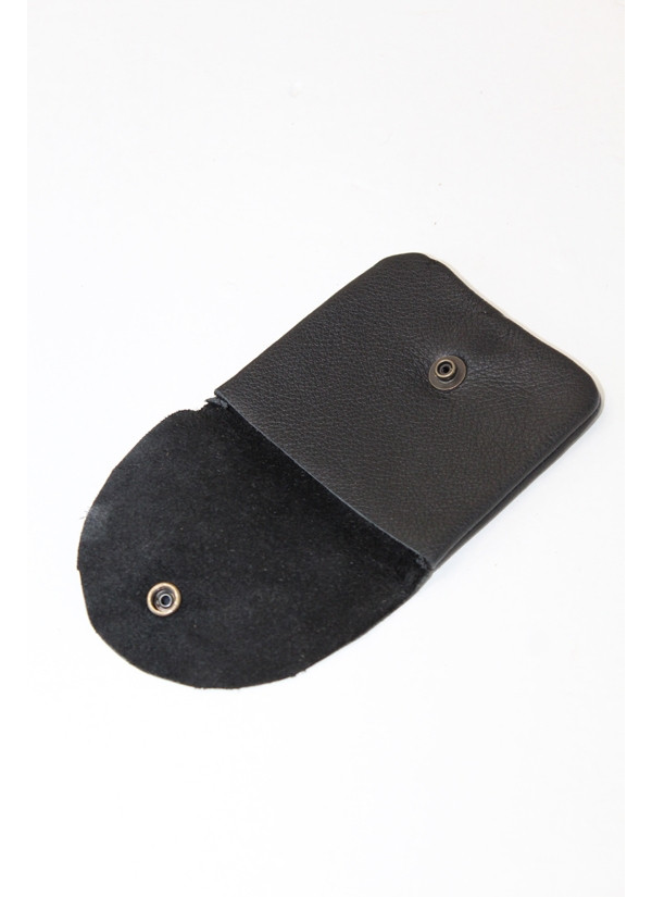 Recycled Leather Coin Bag