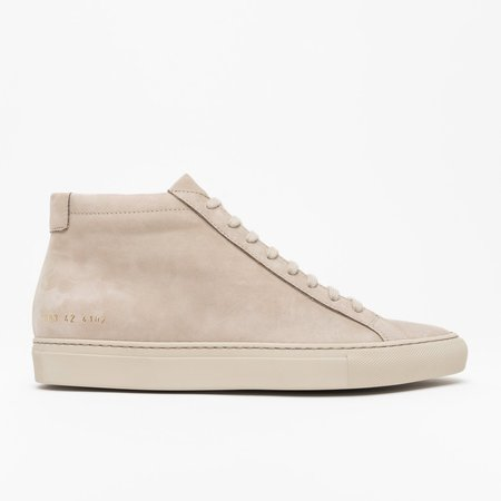 Common Projects Achilles Mid - Off White Nubuck