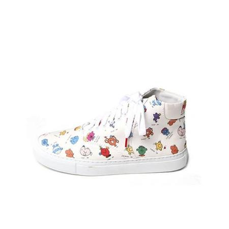 Twins for Peace x Mr. Men Little Miss Vinci Hightops