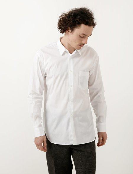 Comme Des Garçons Shirt Classic Poplin Shirt - White