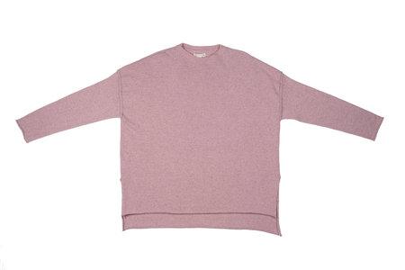 Micaela Greg Hi Lo Rose Sweater