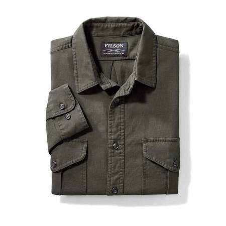 Filson Lightweight Alaskan Guide Shirt - Brunswick Green