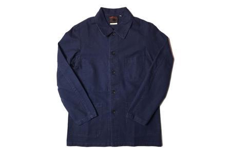 Vetra Twill Workwear Jacket - Navy
