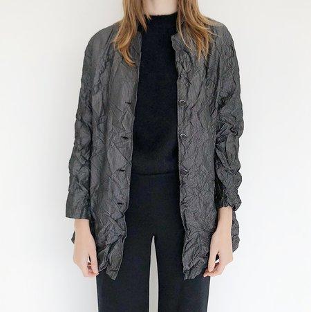 Johan Vintage Grid Wrinkle Jacket
